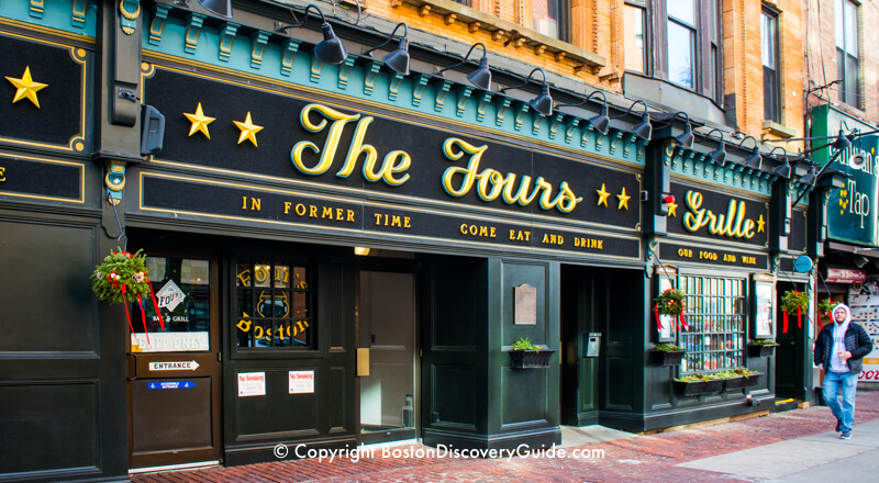 The Fours, popular Boston sports bar close to TD Garden