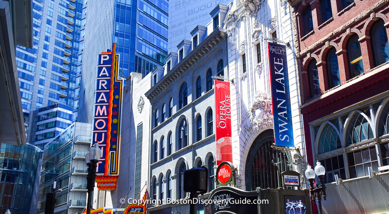 Boston Theater Guide Theatre District Venues Shows