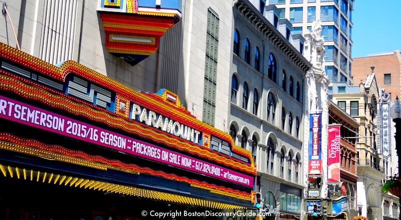 Boston Theatre District Hotels