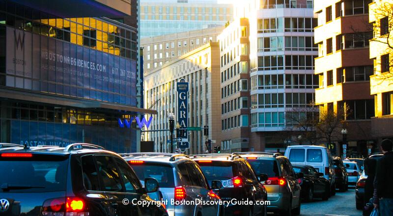 Driving in Boston rush hour