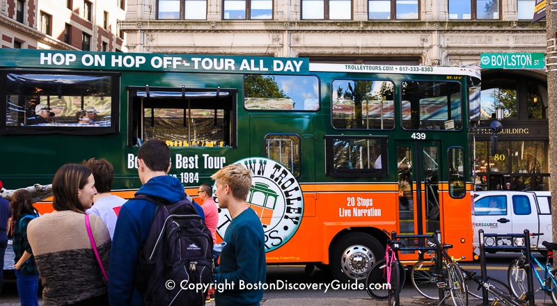 Guide to popular Boston tours