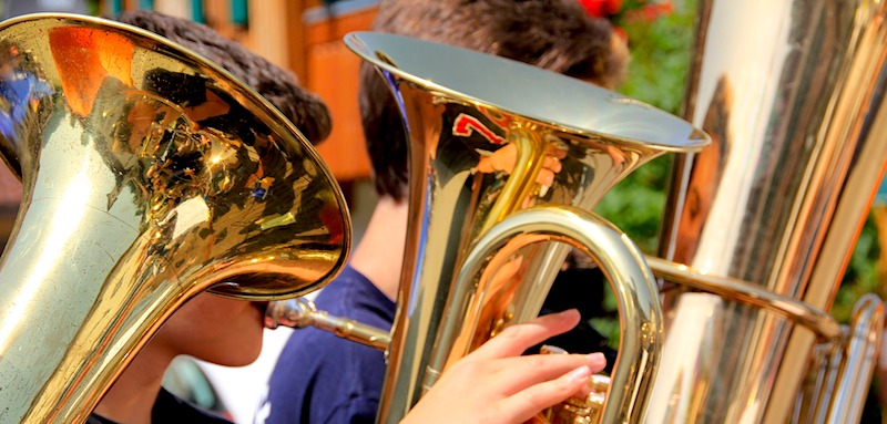 Boston's Annual Tuba Christmas Concert at Faneuil Marketplace