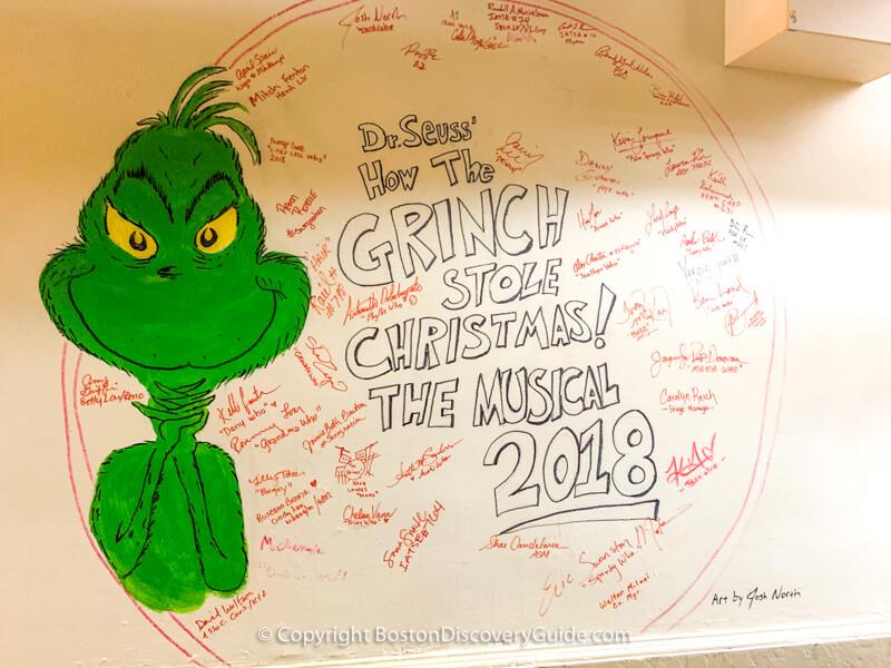"""How the Grinch Stole Christmas"" cast autographs"