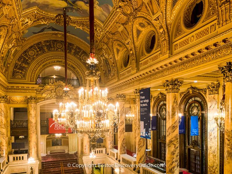 Wang Theatre in Boston