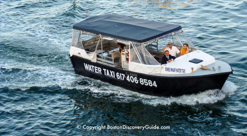 Boston Water Taxis Locations Fares Boston Discovery Guide