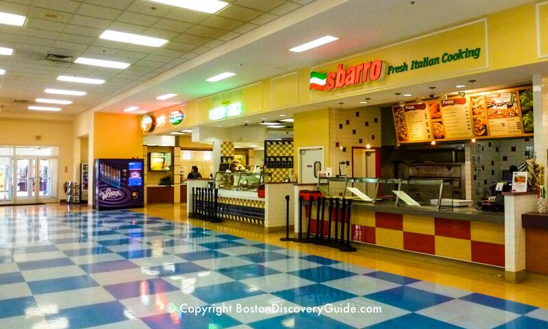 Wrentham Village Outlets food court