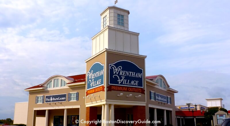 Wrentham Premium Outlets - the best discount shopping mall in Boston
