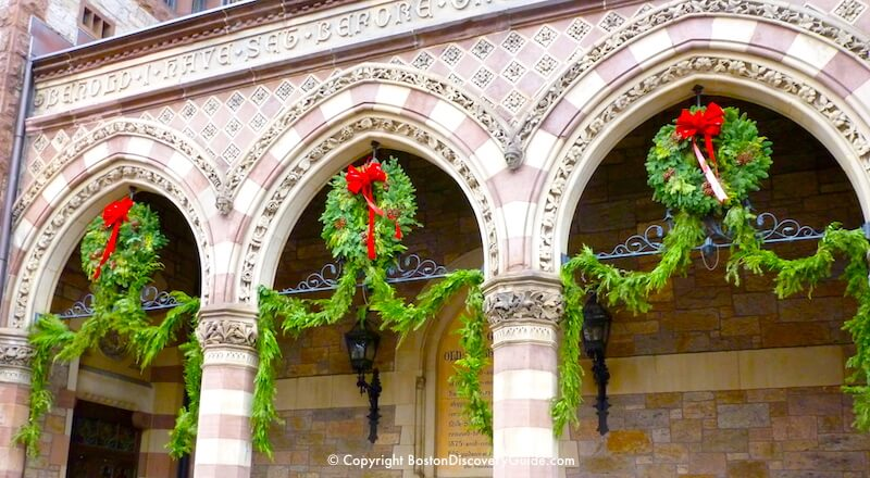 top christmas in boston events boston christmas eve - Christmas Church Decorations