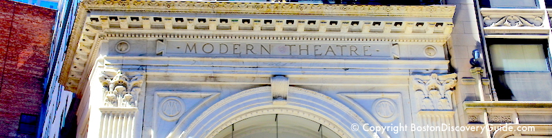 Theater productions and shows for August in Boston