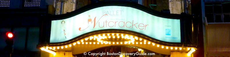 Theater productions and shows for December in Boston