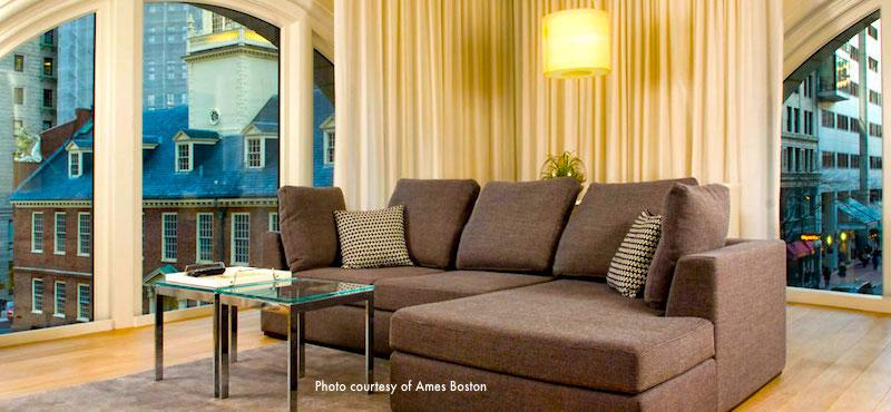 Ames Hotel, top choice near Boston's City Hall Plaza