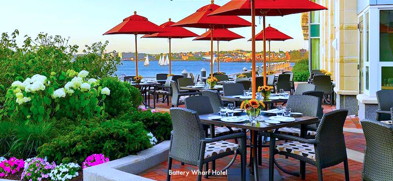 Battery Wharf Hotel, top waterfront choice in Boston's North End
