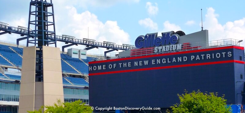 Boston Sports - Gillette Stadium  Schedules, Tickets, Information