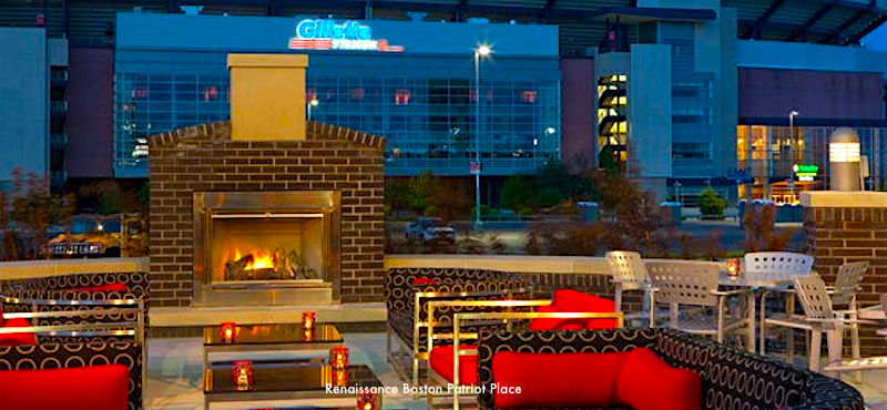Best hotels near Gillette Stadium