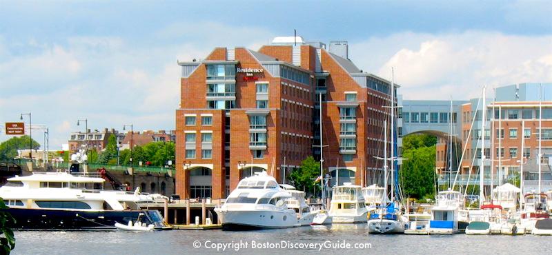 Hotels In Boston S North End Residence Inn Harbor