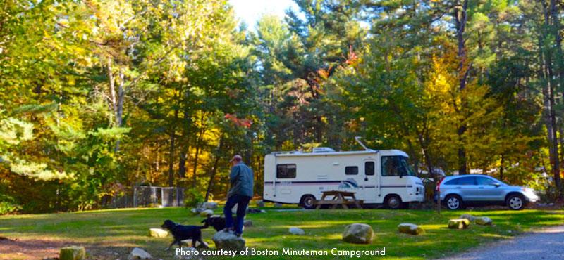 Massachusetts Rv Parks And Camping Near Boston Boston