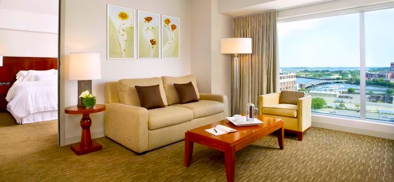 Westin Waterfront Hotel, top choice in South Boston Waterfront