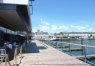 Legal Harborside patio dining in South Boston Waterfront