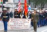 Marine Corps JROTC from Madison Park Technical Vocational High School in Boston's Veterans Day Parade