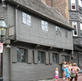 Paul Revere's House on Boston's Freedom Trail