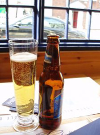 Beer in pub - copyright 2007 Steve Woods