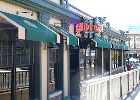 Oliver's nightclub at Boston's Fenway Park / Boston Bars near Fenway - www.boston-discovery-guide.com