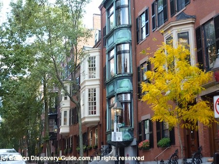 Boston fall foliage photo gallery 2011
