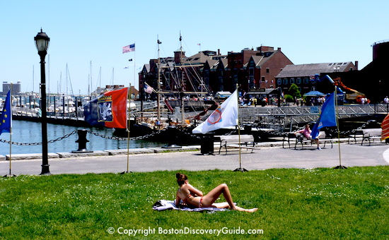Summer activities in Boston