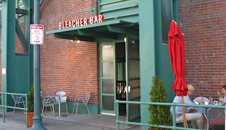 Bleacher Bar at Boston's Fenway Park / Boston Bars near Fenway - www.boston-discovery-guide.com