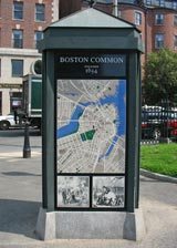Boston Common near Visitor Information Center