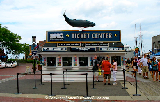 Boston Harbor Cruises Ticket Center at Long Wharf