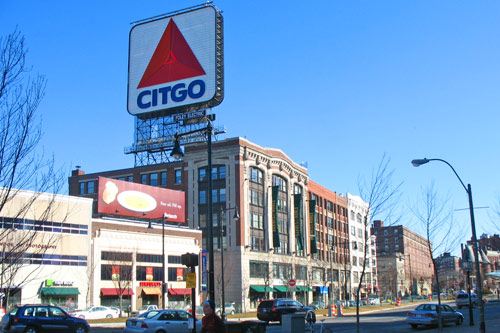 Photo Fenway Park In Boston Near Hotel Buckminister Is Across Commonwealth Ave From