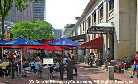 Irish pubs in Boston include The Kinsale in Government Center