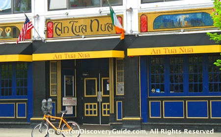 Boston Irish pubs include An Tua Nua