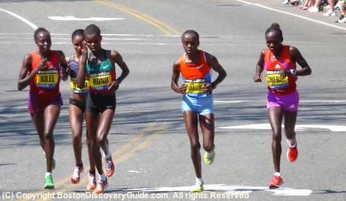 Boston Marathon on Boston Marathon   Patriots Day Race In Boston