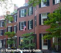 Boston Movie Tours feature Louisberg Square in Boston's Beacon Hill