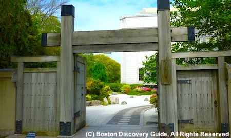 Entrance to the Japanese Garden at Boston's Museum of Fine Arts