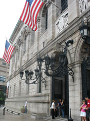 Boston Public Library - Front Entrance
