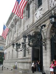 Boston Public Library - Front Entrance