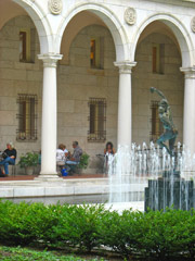 Italianate Courtyard at the Boston Public Library