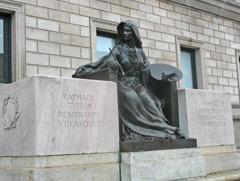 Boston Public Library architectural details