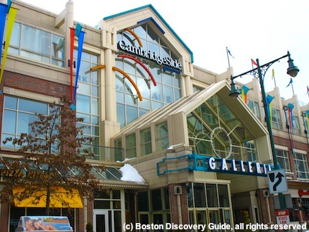 Cambridgeside Galleria shopping mall in Cambridge, MA