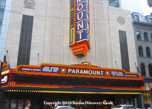 Theatre District - Newly restored historic Paramount Theatre