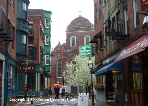 North End - Near North Square, Paul Revere's neighborhood
