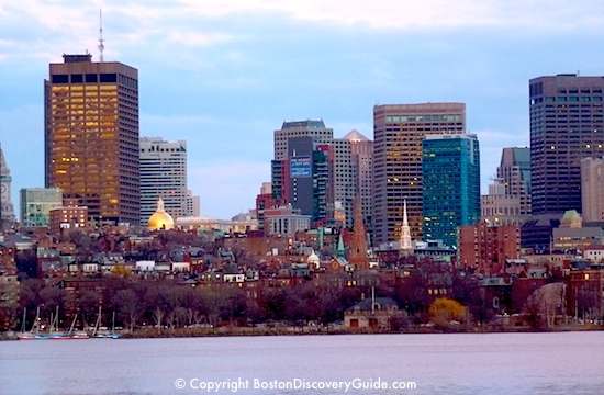 Sunny Boston weather in March - www.boston-discovery-guide.com