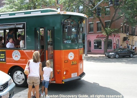 Boston Trolley Tours - Free with Boston Discount Card
