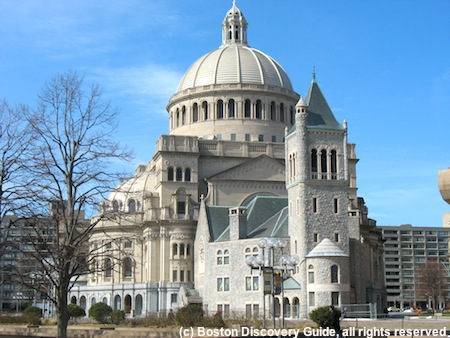 Christian Science Mother Church in Boston