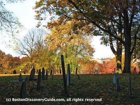 Boston Common Central Burying Ground, Nov 7