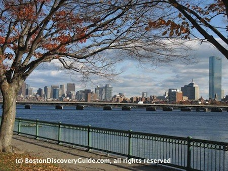 Downtown Boston and Charles River, Nov 7