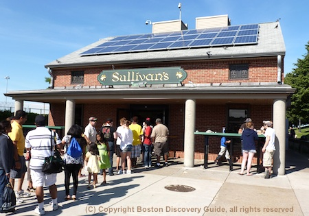 Photo of Sullivan's snack bar on Castle Island